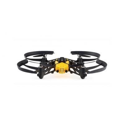 Parrot drone: Airborne Cargo Travis - Zwart, Geel