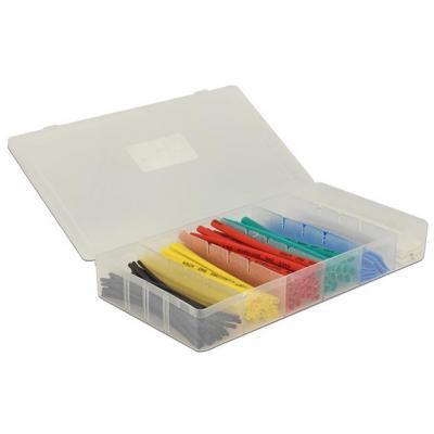 Delock kable insulatie: Heat shrink tube, 100 pieces box - Multi kleuren