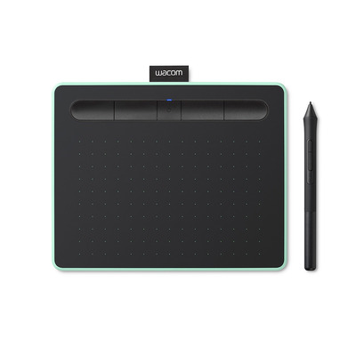 Wacom Intuos M (Medium) Bluetooth Tekentablet - Zwart, Groen