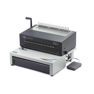 Gbc inbindmachine: CombBind C800Pro Pons-Bindmachine voor Plastic Bindruggen - Zwart, Grijs