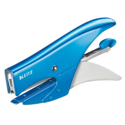 Leitz WOW 5531 Nietmachine - Blauw, Wit
