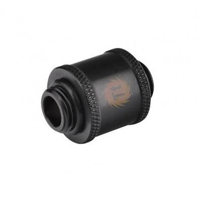 Thermaltake cooling accessoire: Pacific G1/4 Male to Male 20mm extender, CU, 58 g, Black - Zwart