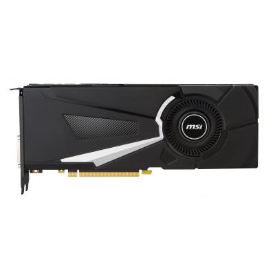 Msi videokaart: NVIDIA GeForce GTX 1080, PCI Express x16 3.0, 8GB GDDR5X, 256 bits, 3 x DisplayPort, 1 x HDMI, 1 x .....