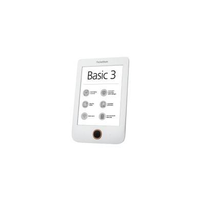 Pocketbook e-book reader: Basic 3 - Zwart, Wit