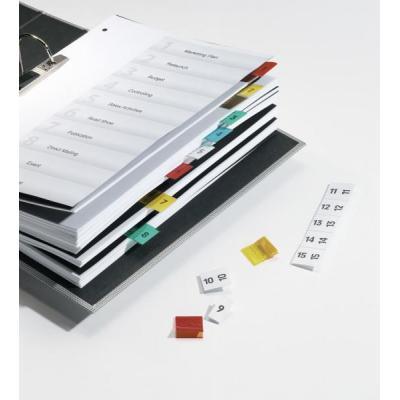 Durable indextab: Quick Tab - Blauw, Groen, Rood, Geel