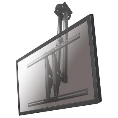 "Newstar flat panel plafond steun: TV/Monitor Ceiling Mount for 37""-75"" Screen, Height Adjustable - Silver - Zilver"