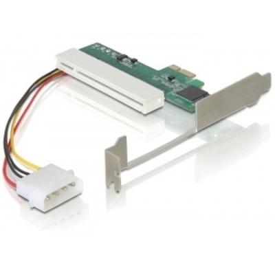 Delock interfaceadapter: PCI Express x1 - PCI Card 32bit - Groen