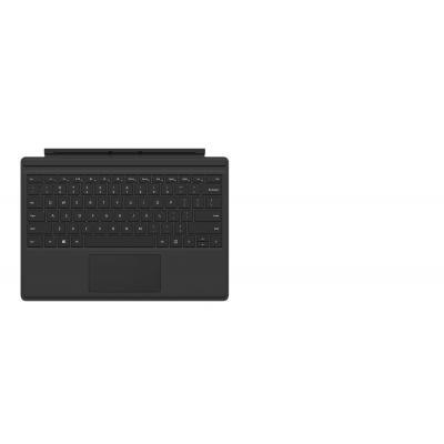 Microsoft mobile device keyboard: Surface Pro 4 Type Cover - Zwart, QWERTY