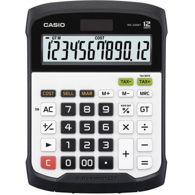 Casio calculator: WD-320MT - Zwart, Wit