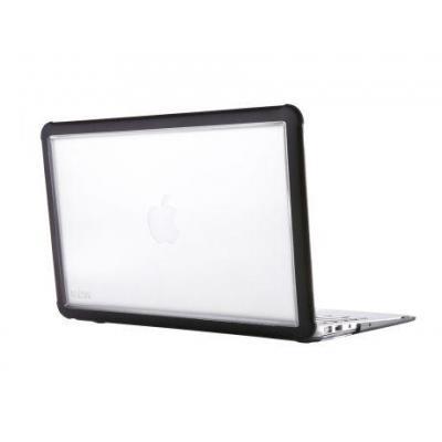 STM Dux Rugged Case voor MacBook Air 11inch Laptoptas - Zwart, Transparant