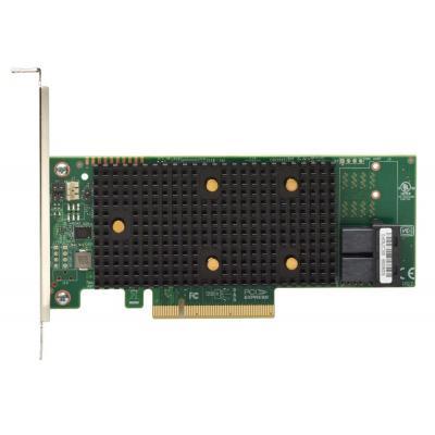 Lenovo ThinkSystem 430-8i SAS/SATA 12Gb HBA Interfaceadapter - Zwart, Groen