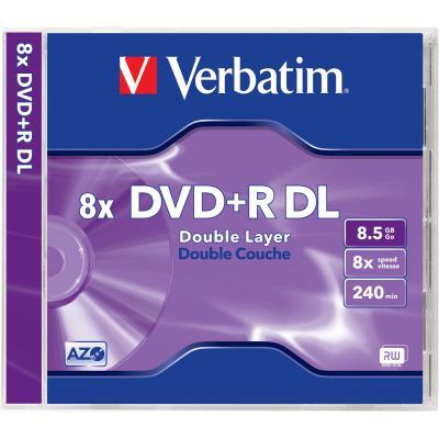 Verbatim DVD: DVD+R Double Layer 8x, 8.5GB