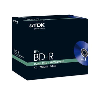 Tdk BD: 5 x BD-R DL 50GB