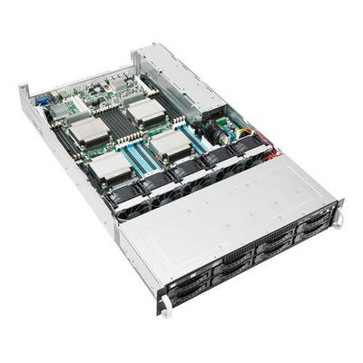 Asus server barebone: RS920-E7/RS8 - Zwart, Metallic