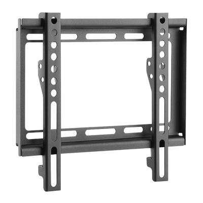 """LogiLink TV wall mount, fix, 23–42"""", max. 35 kg Montagehaak - Zwart,Roestvrijstaal"""