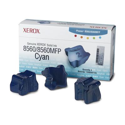 Xerox Originele Solid Ink 8560MFP/8560 Cyaan (3.400 pagina's) Inkt stick