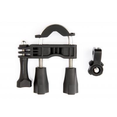 Veho houder: Univ. Pole mount for Muvi HD (Handlebar mount) Black - Zwart