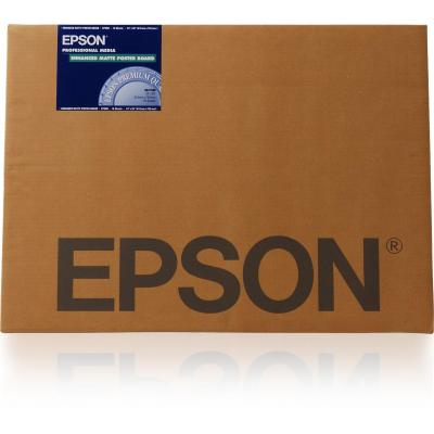 "Epson grootformaat media: Enhanced Matte Posterboard, 30"" x 40"", 1130g/m², 5 Vel"