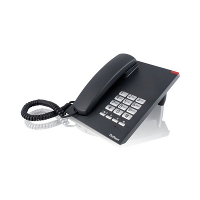 Profoon TX-310, Mute, Flash, Pause, 10 numbers, Zwart Dect telefoon