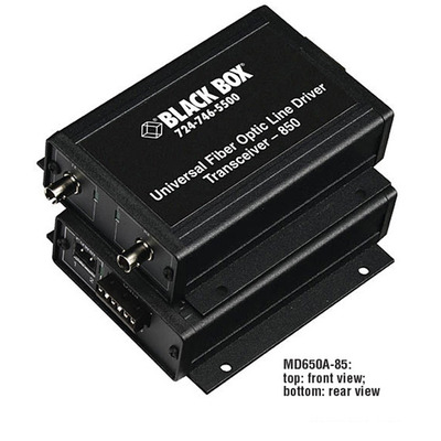 Black Box MD650A-13 Netwerk verlenger - Zwart