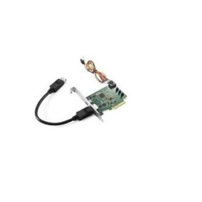 Lenovo interfaceadapter: ThinkStation Intel Thunderbolt Add-In Card - Groen