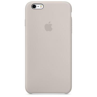 Apple mobile phone case: Siliconenhoesje voor iPhone 6s Plus - Steengrijs - Beige