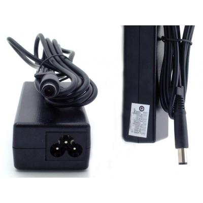 HP AC Smart pin slim power adapter (65-watt) Refurbished Netvoeding - Zwart