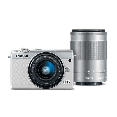 Canon digitale camera: EOS M100 - Wit