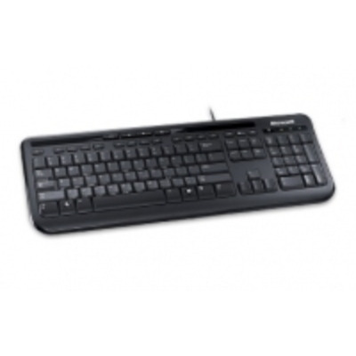 Microsoft toetsenbord: Wired Keyboard 600 - Zwart, QWERTY