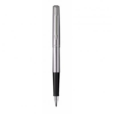 Parker vulpen: Jotter Stainless Steel, blue ink, medium nib - Roestvrijstaal