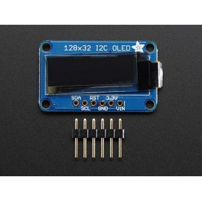 Adafruit : 128x32 I2C OLED graphic display