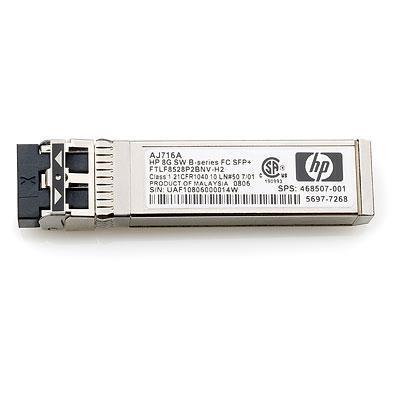 Hewlett Packard Enterprise 8Gb Short Wave (SW) card - Fiber Channel, 1-pack, Enhanced Small .....