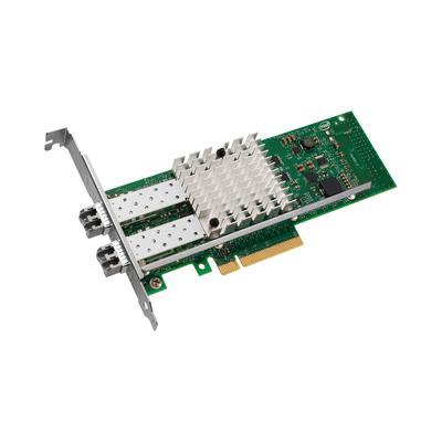 Intel X520 SERVER ADAPTER- SR2 DUAL PORT 10G SR2 LC FIBER PCIE BULK Netwerkkaart
