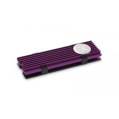 EK Water Blocks EK-M.2 NVMe Heatsink - Purple Hardware koeling - Zwart,Paars