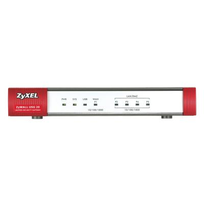 ZyXEL gateway: USG-20