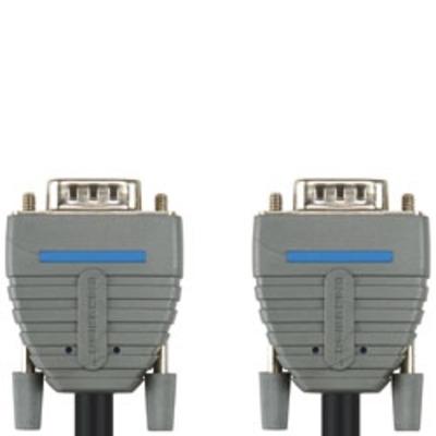 Bandridge BCL1110 VGA kabel  - Zwart, Blauw, Grijs