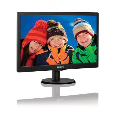 Philips monitor: LCD-monitor met SmartControl Lite 203V5LSB26/10 - Zwart