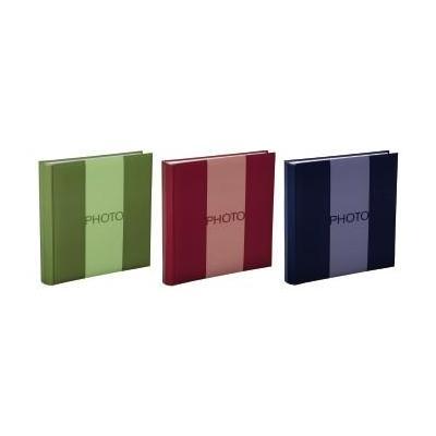 "Hama album: ""Uni"" Jumbo Album, 30x30cm, 14pcs (5x Red, 5x Blue, 4x Green) - Blauw, Groen, Rood"