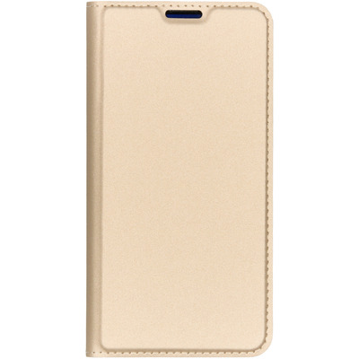 Slim Softcase Booktype Samsung Galaxy S10e - Goud / Gold Mobile phone case