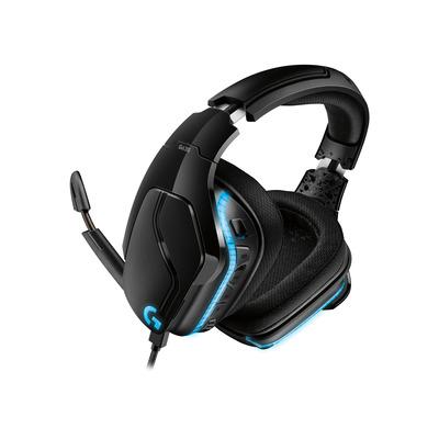 Logitech G G 635 Headset - Zwart, Blauw