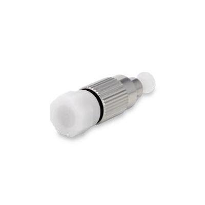 Spaun SODE 3 FC/PC Fiber optic adapter - Zilver, Wit