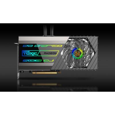 Sapphire TOXIC Radeon RX 6900 XT Limited Edition Videokaart - Zwart,Roestvrijstaal