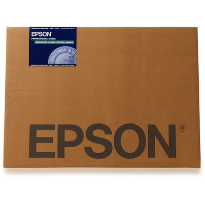 Epson Enhanced Matte Posterboard, DIN A2, 800g/m², 20 Vel Grootformaat media