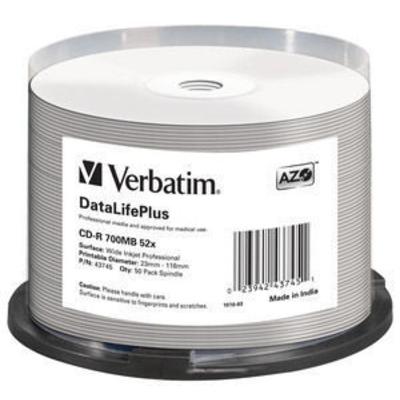 Verbatim CD: CD-R 52x DataLifePlus