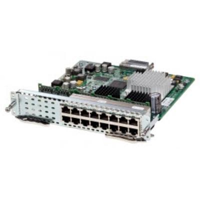 Cisco SM-ES3-16-P= Netwerk switch module