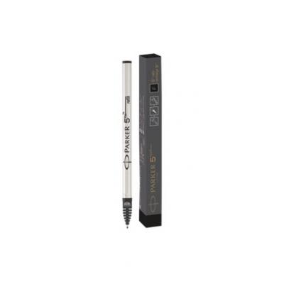 Parker 5TH, BLACK FINE NIB Pen-hervulling - Zwart, Wit