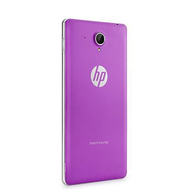 Hp tablet case: Slate 6 VoiceTab Purple Back Cover - Paars