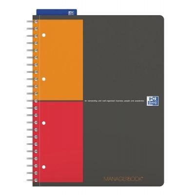 Elba schrijfblok: A4, 80 sheets, 80gsm - Multi kleuren