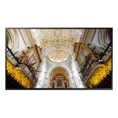Samsung public display: 4K UHD Standalone Display QMN 75 inch - Zwart