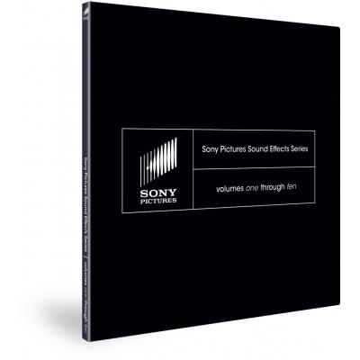 Magix audio software: Sony Pictures Sound Effects Series: Volumes One through Ten - Complete package